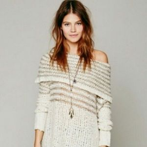 Free People Oversized Chunky Sweater